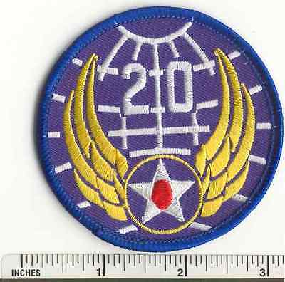 WW2 20th Air Force AAF Military US Army WWII  USAF fabric PATCH