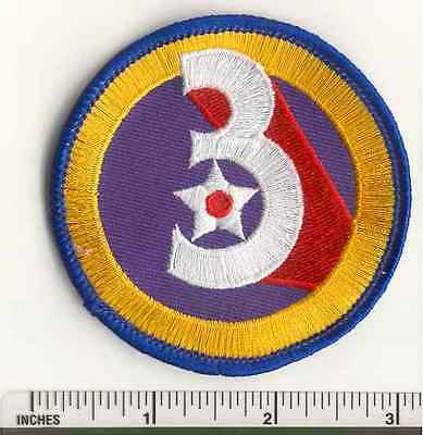 WW2 3RD Air Force AAF Military US Army WWII  USAF fabric PATCH
