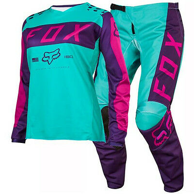 NEW FOX Racing MX 2017 Kids Girls 180 Motocross Jersey Pants Outfit Purple Pink