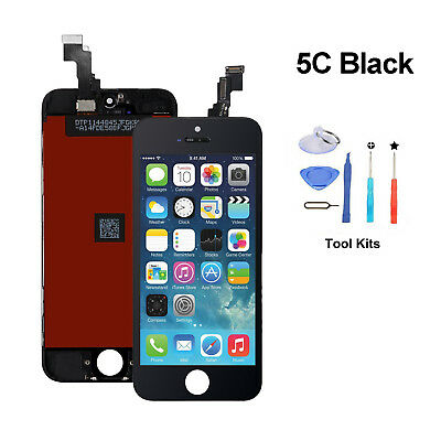 Black LCD Display +Touch Screen Digitizer+Assembly Replacement For iPhone 5C