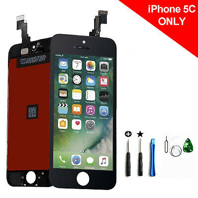 New Black LCD Display Touch Screen Digitizer Assembly Replacement For iPhone 5C
