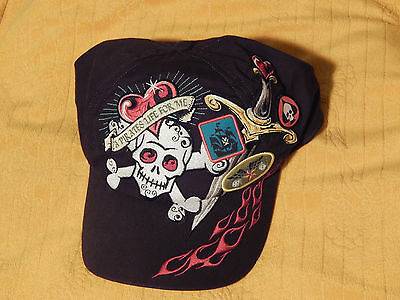 "Walt Disney World ""A Pirates Life For Me"" Hat) VELCRO) Pirates of the Caribbean)"