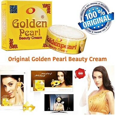 GOLDEN PEARL WHITENING BEAUTY CREAM 30g Anti Ageing Pimple Removing & Face Wash