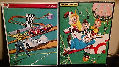 Vintage Howdy Doody and Hot Wheels puzzles