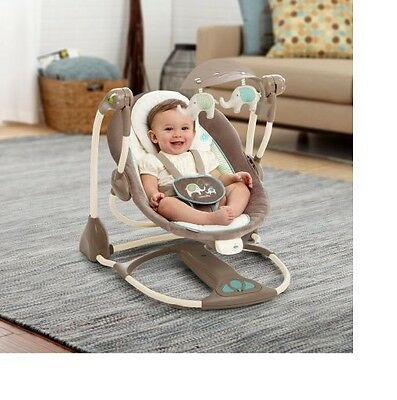 Baby Swing Bassinet Seat Portable Newborn Infant Gift Soothe Vibration Music Bed