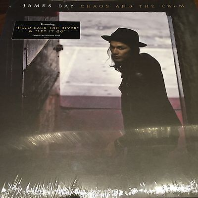 James Bay - Chaos And The Calm - Gatefold 180g Vinyl LP New / Sealed