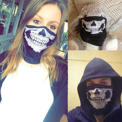 Hot Cool Pirate Half Face Seamless Scarf Veil Outdoor Sport Cycling Mask Shield
