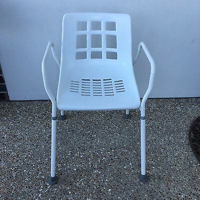 Shower Chair With Height Adjustable Legs