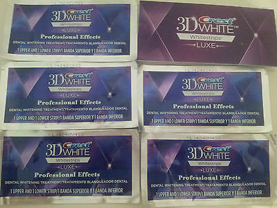 crest3D whitestrips 10 Strips / 5 Pouches  FAST SHIPPING FROM SPAIN