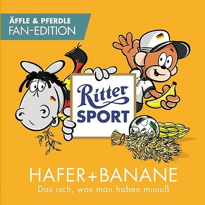 Ritter Sport Äffle & Pferdle Fan-Edition Hafer + Banane LIMITED AUSVERKAUFT
