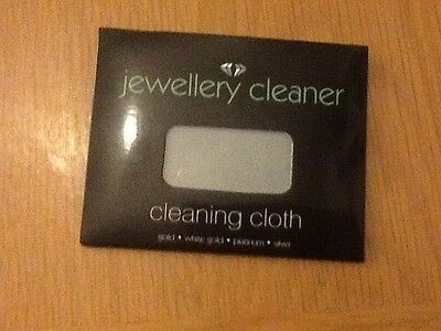 Jewellery Cleaner Cleaning Polish Cloth for Gold Silver Platinum White Gold Ring