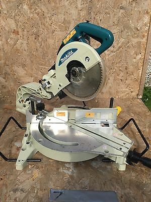 Makita LS1013 Mitre Compound Sliding Chop Saw 110v & Blade, Very Good Condition