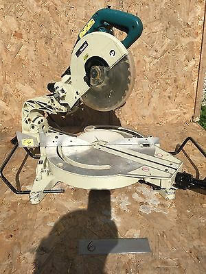 Makita LS1013 Mitre Compound Sliding Chop Saw 110v & Blade