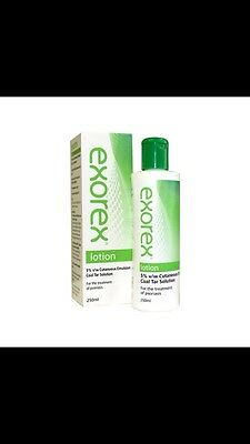 Exorex Lotion - 5% Coal Tar Solution - For The Treatment Of Psoriasis - 250ml