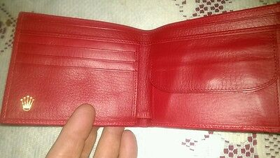 (More Pics) NOS Rare Rolex Wallet Leather NEW  Be Quick...  8 watching!!!