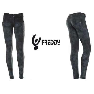 PANTALONE FREDDY Donna WR.UP Shaping Effect Skinny WRUP1LFB2E NG/2 Stampa