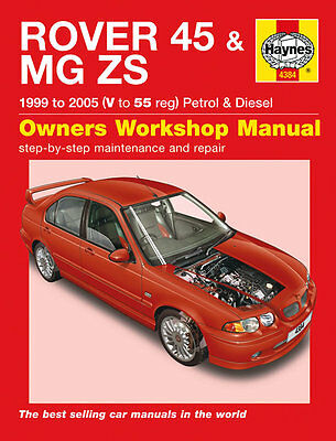 New Rover 45 and MG ZS(99-05) V-55 Reg Haynes Manual - Factory Wrapped