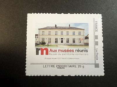 FRANCE timbre AUTOADHESIF, AUTOCOLLANT COLLECTOR AUX MUSEES REUNIS, MNH STAMP