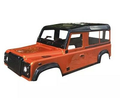 ABSIMA D110 CRAWLER BODY LIKE LAND ROVER DEFENDER - UNPAINTED (300mm wheel base)