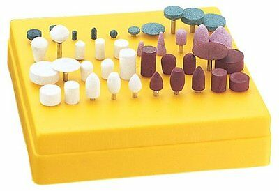 Steelex D2698 Mini Grinding and Polishing Set, 40-Piece
