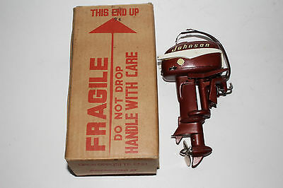 1950's K & O Johnson Sea Horse 30HP toy outboard boat motor with Original Box