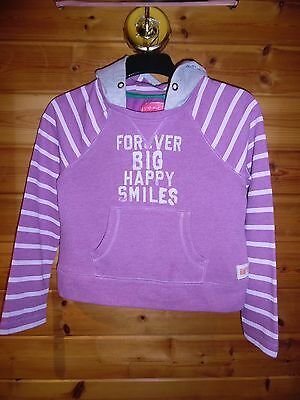 Girls Next Pink 'Happy Smiles' Hoodie *Aged 10 Years* Excellent Condition