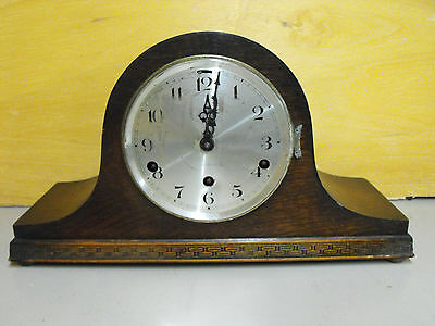 Vintage NAPOLEON HAT Mantel CLOCK With WESTMINSTER CHIME