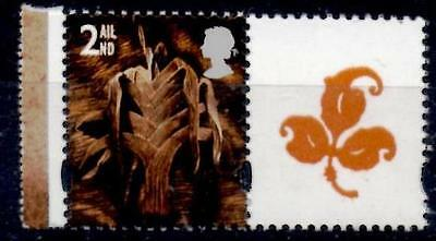 Wales 2000 2nd 1 Band at Right Perf 14  W83a MNH