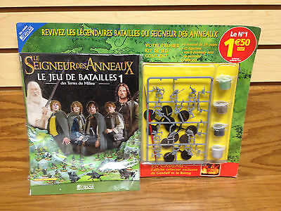 12 Figures with Paint FRENCH Battle Games LOTR Lord of the Rings Games Workshop