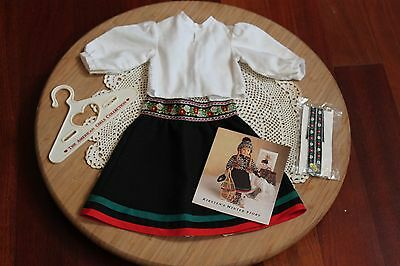 American Girl Doll Kristen's RETIRED Winter Outfit, Good Used Condition!