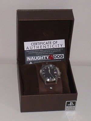 Uncharted Nathan Drake's Watch - 500 only - Leather Band Wristwatch - Rare 4 3 2