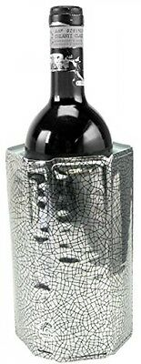 Wine Bottle Cooler Sleeve Chiller Rapid Ice With Multiple Polyester Foil Layers