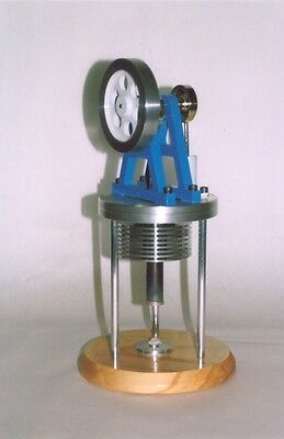 Vertical Hot Air Model Engine. SELLER WILL POST