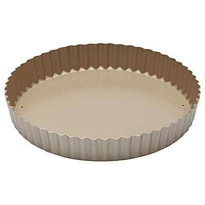 KitchenCraft Non-Stick Fluted Tart Tin / Quiche Pan with Loose Base 23 cm - NEW