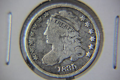 1835 10C Capped Bust Dime - Lot # DCB 53