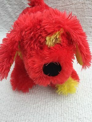 """Tweenies Doodle Dog Red And Yellow 7"""" Tall 10"""" Long Exc Con"""