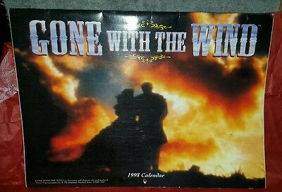 GONE WITH THE WIND 1998 Calendar VGUC