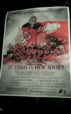New Jersey Devils 2016-17 game night Poster vs ST. LOUIS (STAR WARS)