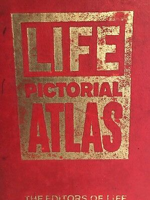 Life Pictorial Atlas of the World 1961, Rand McNally