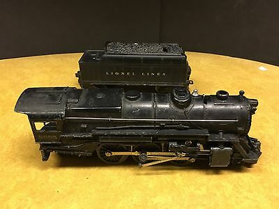 Vintage Lionel O scale steam loco #2035 w tender