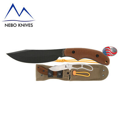 Ka-Bar Adventure Potbelly Camping Machete Knife & Sheath KA5600