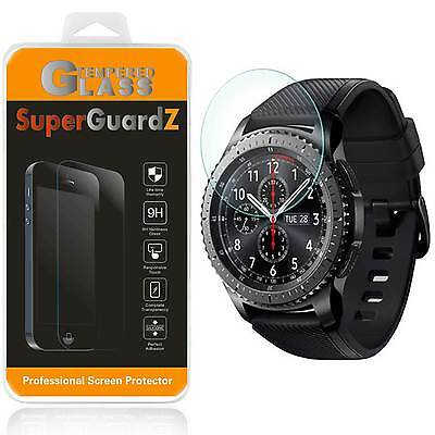 3X Tempered Glass Screen Protector For Samsung Gear S3 Classic / Frontier + Pen