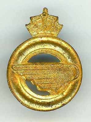 Recent Belgian Army Service Corps Collar Badge Gold Plated