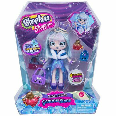Shopkins Shoppies Special Edition Gemma Stone Doll - Choose from 2 Styles