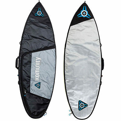 Komunity Project 6FT 4 Armour Single Traveller Surfboard Bag Komunity Project