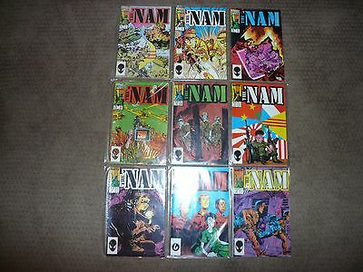 The 'Nam #s: 1-36 (Marvel, 1986-1987) Lot of 35