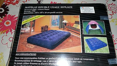 matelas double usage biplace