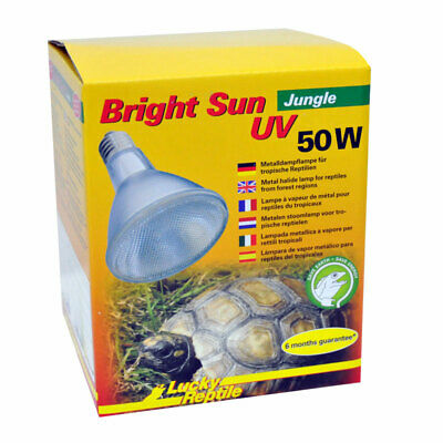 Lucky Reptile Bright Sun UV Jungle 50 Watt Terrarienlampe für Reptilien
