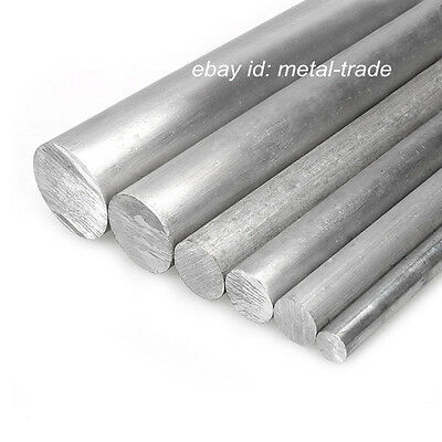 Φ50mm ALUMINUM 6061 Round Rod D50mm Any Length Solid Lathe Bar Cut Stock Metal