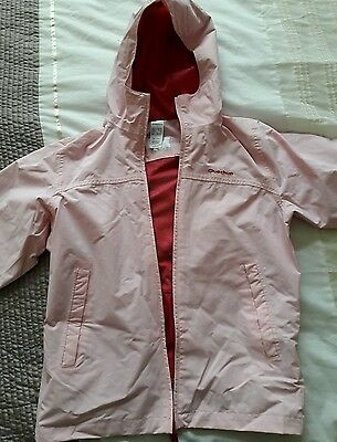 Girls pink lightweight jacket coat age 12
